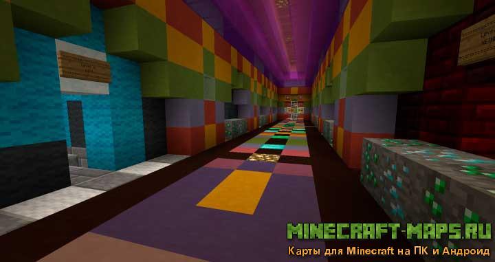 The Quick Fall – Карты на выживание для Minecraft